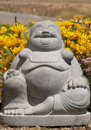 Stone Fat and Happy Buddha Statue 20