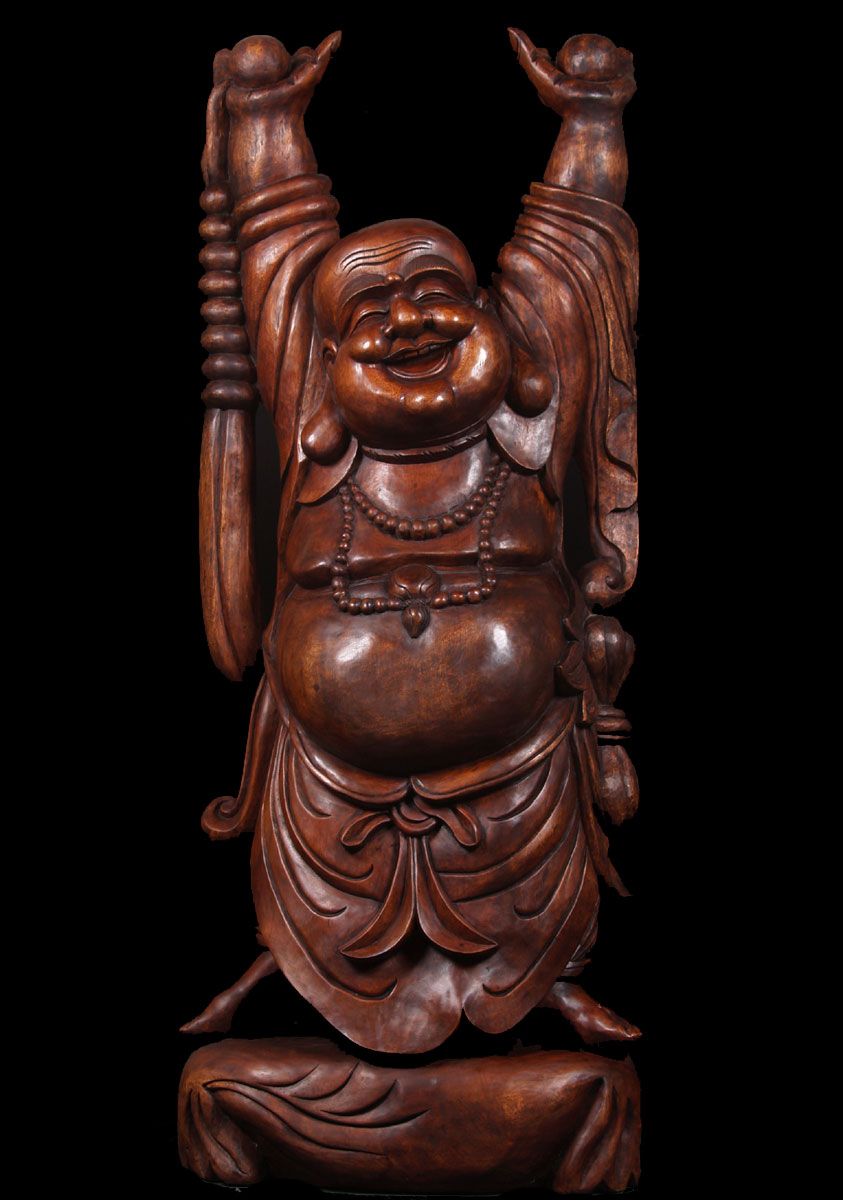 "SOLD Large Fat & Happy Buddha Statue 72"" (#fat-buddha-1 ..."