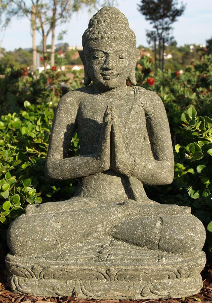 sold garden buddha statue 21 59ls5l hindu gods buddha statues. Black Bedroom Furniture Sets. Home Design Ideas