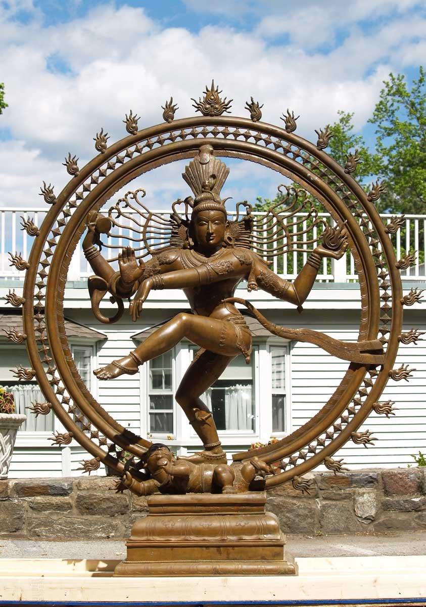 Custom Large Bronze Nataraja Statue