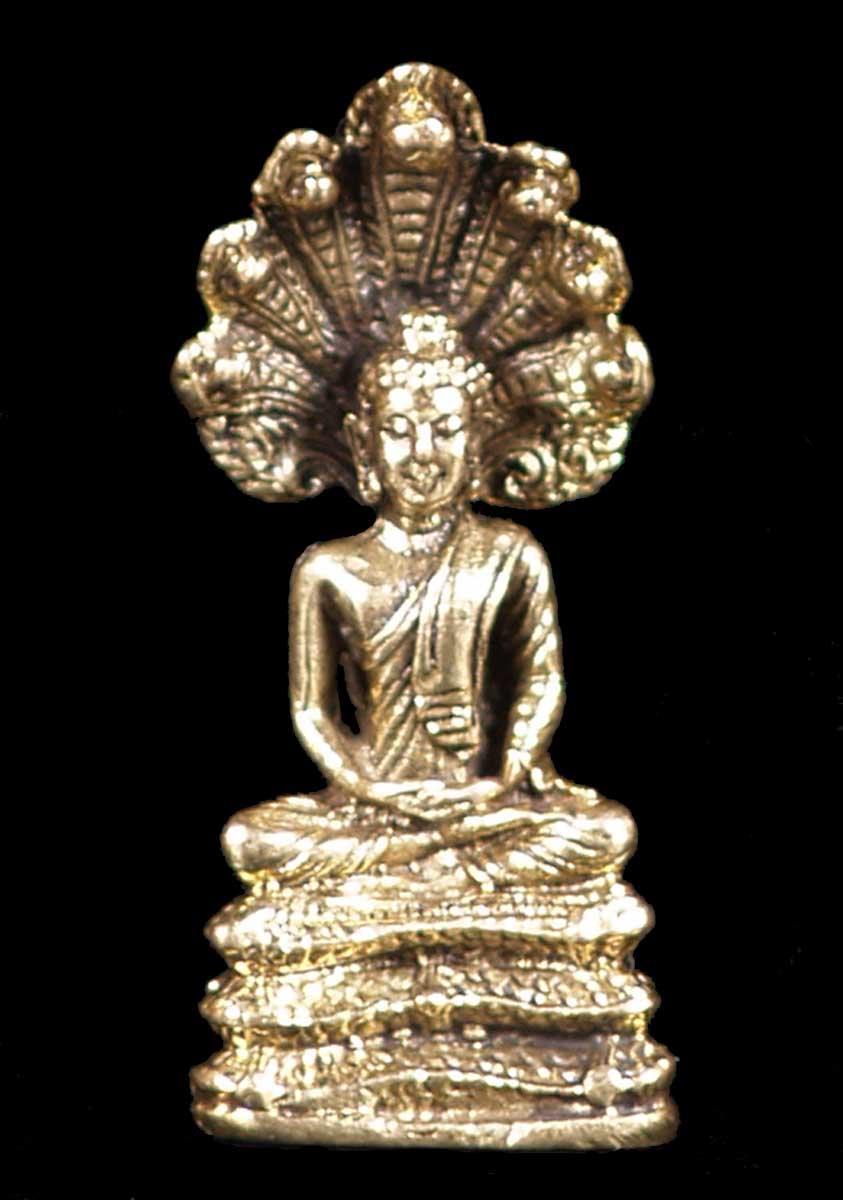 Sold Little Naga Buddha Statue 1 5 Quot Lnb Hindu Gods