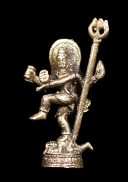 Little Metal Nataraja Statue 2