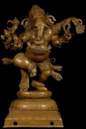 Masterpiece Bronze Ganesh 5 Feet Tall