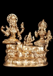 Bronze Shiva Family on Mount Kailash 9