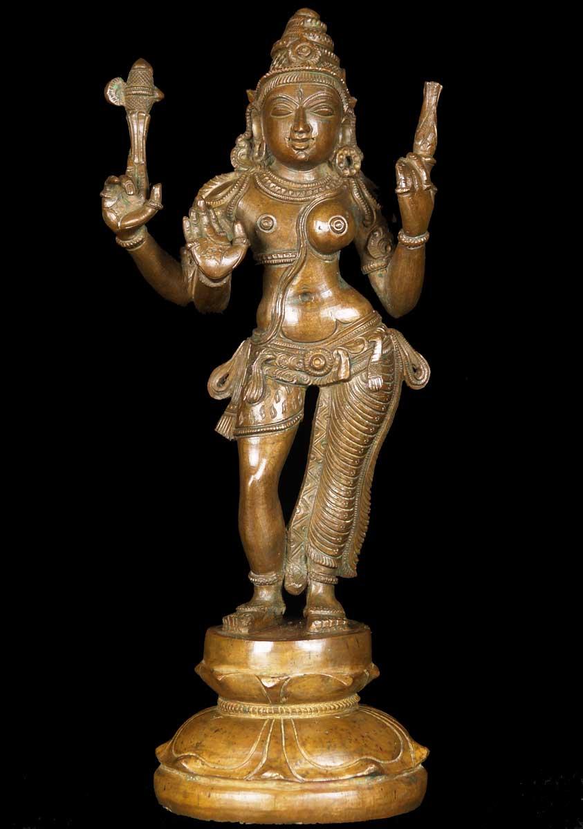 Sold Shiva Parvati Statue As Ardhanari 12 Quot 60b86 Hindu