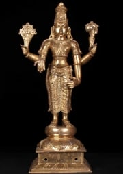 Golden Statue of Vishnu the Preserver 195
