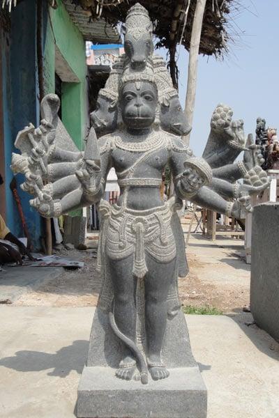 Sold Panchamuhkti Hanuman Statue 5 Faced Hanuman 40