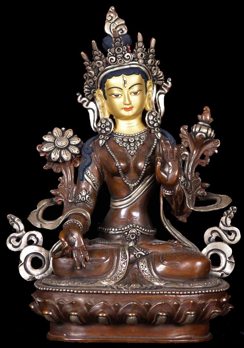 Sold Beautiful Tara Statue 8 5 Quot 61ns16 Hindu Gods
