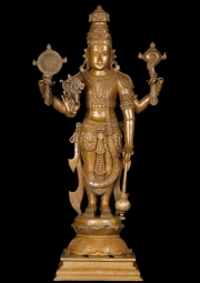 Beautiful Bronze Vishnu Statue 25