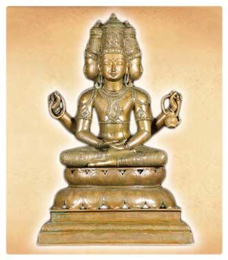 93714c0db5dbc Brahma, Hindu God Brahma, Hindu God Creation, Brahma Vishnu Shiva ...