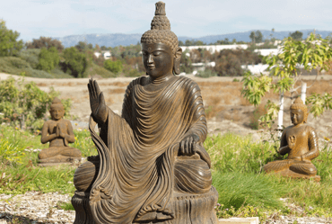 Stone and Garden Buddha and Hindu statues for sale